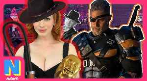 """News video: Deathstroke Solo Film """"Still In Works"""", Could The Next Indiana Jones Be A WOMAN!   NW News"""