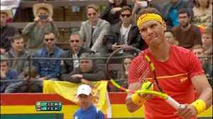 News video: Nadal levels for Spain in Davis Cup tie on comeback
