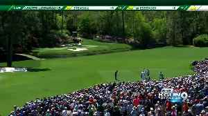 News video: Tiger Woods makes his return to Augusta