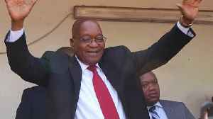 News video: South Africa's Zuma proclaims innocence after court appearance