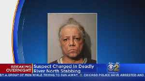 News video: Man Charged With Fatal River North Stabbing