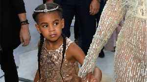 News video: Blue Ivy Has A Stylist And Personal Shopper