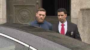 News video: Conor McGregor Led Out Of Brooklyn Police Station
