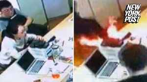 News video: iPhone battery explodes in the middle of a store