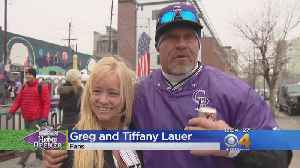 News video: Fans Trying To Keep Warm In LoDo, Prepare For Rockies Home Opener