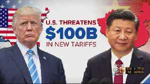 News video: President Dismisses Concerns About Trade War With China After Proposing More Tariffs