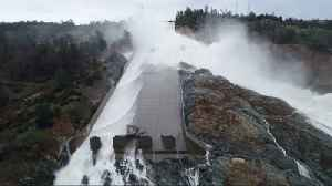 News video: Rain Causes Oroville Dam Spillway Concerns in California