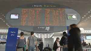 News video: Air France strike disrupts holiday travels