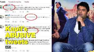 News video: Kapil Sharma's ABUSIVE tweets targets Journo