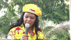 News video: Grace Mugabe accuses gold miners of invading her farms