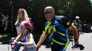 News video: Cops and kids team up for unrivaled cancer research fundraiser
