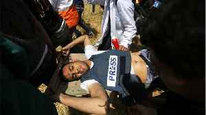 News video: Palestinian Journalist Killed By Live Gunfire In Israel-Gaza Protests