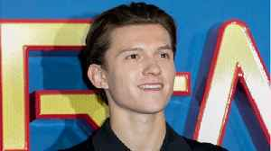 News video: Tom Holland In Dark On 'Avengers: Infinity War'