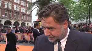 News video: Russell Crowe's Used Leather Jock Strap Fetches $7K as 'Divorce Auction' Rakes in $3.7 Million