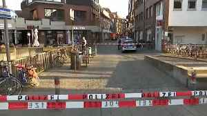 News video: Several killed and injured as van driven into crowd in Muenster, Germany