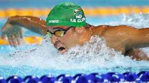 News video: Gold-Star Swimmers Adam Peaty And Chad Le Clos