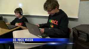Students focus on positivity for 'BeNICE Week' [Video]