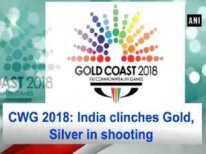 News video: CWG 2018: India clinches Gold, Silver in shooting