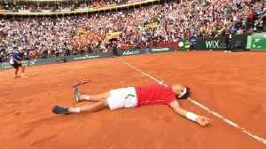News video: Spain join France, Croatia in semis after epic Ferrer win
