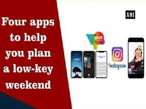 News video: Four apps to help you plan a low-key weekend