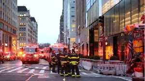 News video: Trump Tower Floor Where A Man Was Killed In A Fire Didn't Have Sprinklers