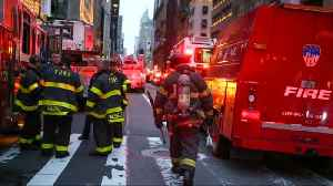 News video: One killed in apartment fire at Trump Tower in New York
