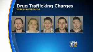 News video: Family Of Suspected Drug Dealers Charged In Fatal Overdoses