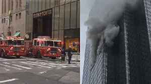 News video: Trump Tower Resident Dies After Fire in 50th Floor Apartment