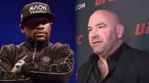 News video: Dana White on Floyd Mayweather in the UFC: It's going to happen | The Tap