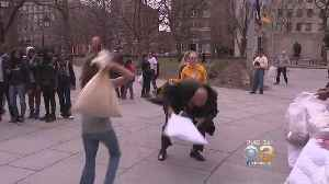 News video: Philly Pillow Phight Returns For International Pillow Fighting Day