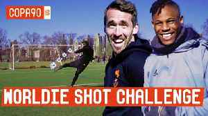 News video: No Fuchs Given: Worldie Shot Challenge with Leicester City Star