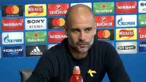 News video: City need to produce 'the perfect game' says Guardiola