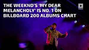 News video: The Weeknd's 'My Dear Melancholy' is No. 1 on Billboard 200 Albums Chart