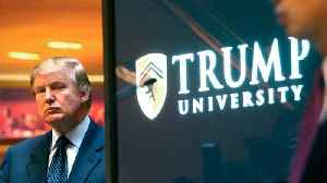 News video: U.S. Federal Judge Finalizes Trump University Settlement