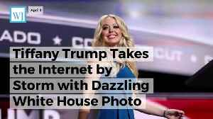 News video: Tiffany Trump Takes the Internet by Storm with Dazzling White House Photo