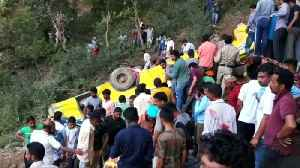 News video: At least 30 children killed in India bus accident