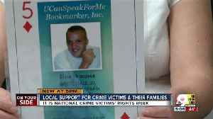 News video: National Crime Victims' Rights Week can be tough reminder for victims' families