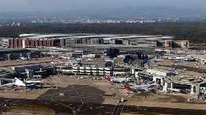 News video: Airport strike in Germany and action in France promises misery for air travelers