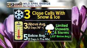 News video: Snow Fades But Chill Remains
