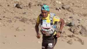 News video: Rachid El Morabity takes stage two in Marathon Des Sables