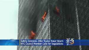 News video: Deadly Trump Tower Fire Is Raising Safety Concerns