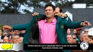 News video: The Masters shows that golf is being taken over by the new generation