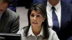 News video: Nikki Haley Goes After Russia Following Syria Chemical Attack