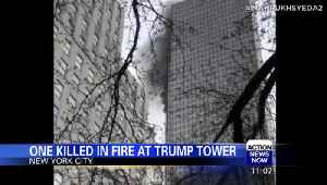 News video: One killed in fire at Trump Tower