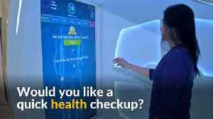 News video: Dubai's health pods provide patients with instant checkups