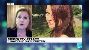 News video: Russian ex-spy poisoning: Daughter Yulia Skripal released from hospital