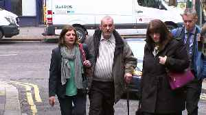 News video: Ellie Butler's grandfather arrives for inquest ruling
