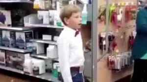 News video: YODEL KID MASON RAMSEY EXPLAINS WHY HE ALWAYS SINGS AT WALMART