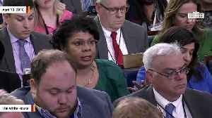 News video: April Ryan Asks Sarah Sanders If Trump Has Considered 'Stepping Down'