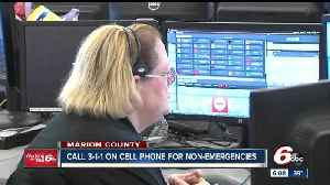 News video: Marion County implements non-emergency line for cell phone users